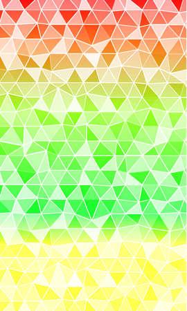multi color banner. polygonal design. vector illustration. origami style. for design, internet, business Vettoriali