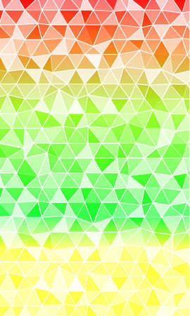 multi color banner. polygonal design. vector illustration. origami style. for design, internet, business Illustration