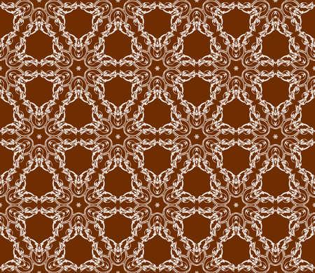 Abstract floral seamless pattern. Geometry design. Texture for holiday cards, Valentines day, wedding invitations, design wallpaper, pattern fills, web page, banner, flyer. Ilustração