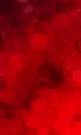 beautiful red geometry background. vector illustration. polygonal pattern. design for banner, presentation, wallpaper.