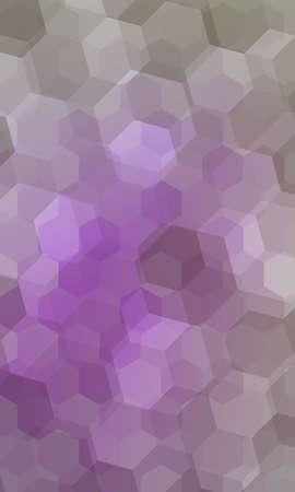 beautiful light purple geometry background. vector illustration. polygonal pattern. design for banner, presentation, wallpaper. Ilustrace