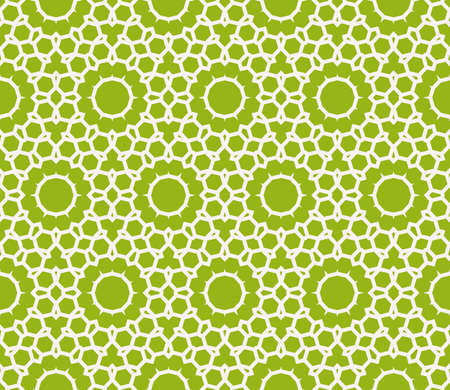 seamless sophisticated geometric pattern based on repetitive simple line and shape forms. Illustration