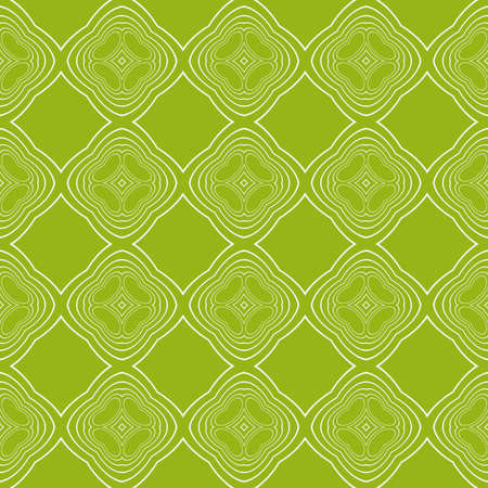 Sophisticated geometric pattern based on repetitive simple line and shape forms. vector illustration. for interior design, backgrounds, card, textile industry. green coloring