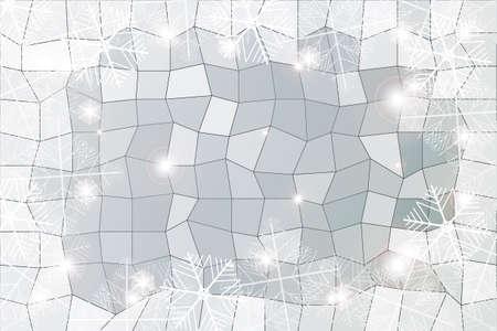 Silver gradient background Ilustrace