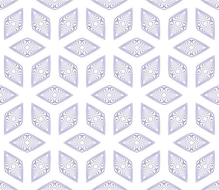 seamless vector pattern of geometric cube. blue gradient. vector illustration