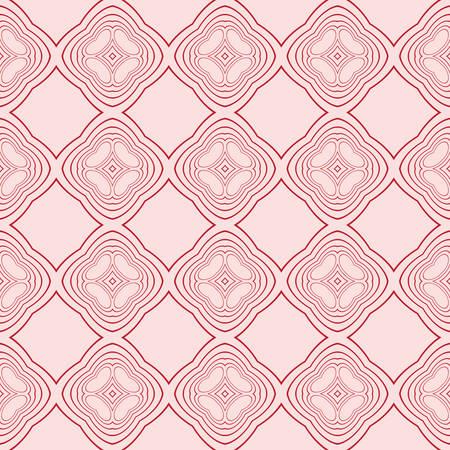 Seamless geometric pattern. vector illustration. pink color. for the design, printing, interior decoration, Wallpaper Illustration