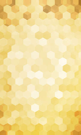 Holiday background. Hexagon geometry pattern. Vector illustration for design flyer, banner, wallpaper.