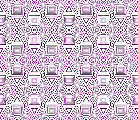 Seamless vector pattern of hexagons. Purple gradient vector illustration. Ilustrace