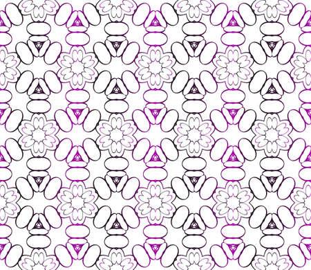 Seamless vector pattern. Floral design for interior decoration, wallpaper, presentation, fashion design.