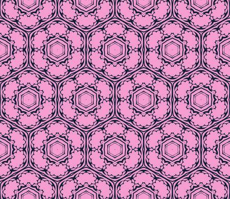Seamless geometric pattern. Vector illustration. purple for design, printing. Illustration