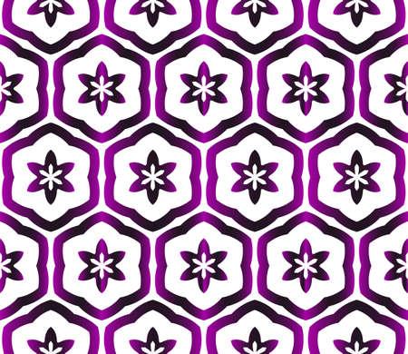 Floral fabric pattern Stock Illustratie
