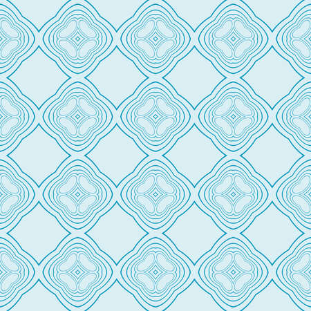 pattern of geometric designs. Seamless vector illustration. blue. for interior design, printing, textile industry
