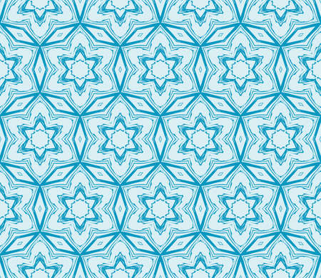 abstract flowers. blue. Seamless vector illustration. to design greeting cards, backgrounds, wallpaper, interior design. Ilustração