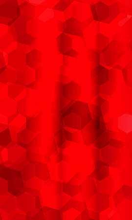 Beautiful red geometry background.