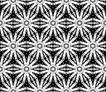 Seamless vector pattern of abstract ornament. Illustration