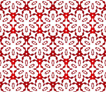 seamless vector pattern. floral ornament. interior decoration, wallpaper, presentation, fashion design. red gradient Stock Illustratie
