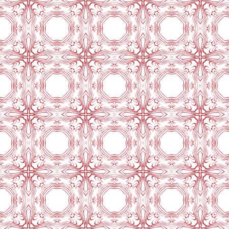 Seamless vector pattern. floral ornament. interior decoration, wallpaper, presentation, fashion design. red gradient