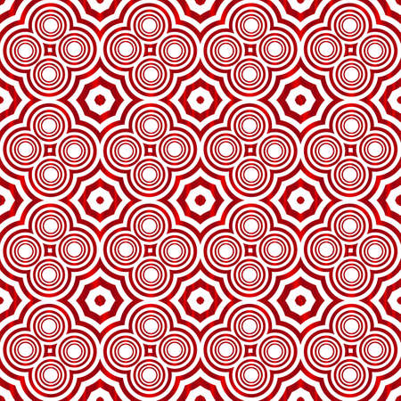 Seamless vector pattern of circles.