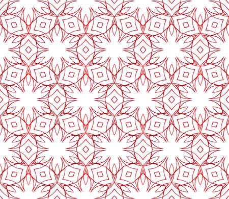 floral red gradient seamless pattern. vector. interior decoration, wallpaper, presentation, fashion design