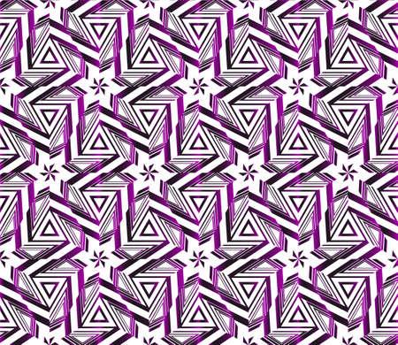 Geometric pattern of star. vector illustration. purple gradient.