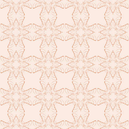 geometric patterns. seamless texture. vector. beige, pastel color. for interior design, printing, textile industry
