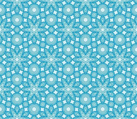 abstract flowers. blue. Seamless vector illustration. to design greeting cards, backgrounds, wallpaper, interior design.