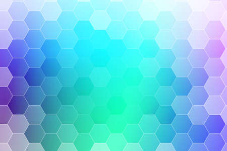 abstract blue water color hexagon background. vector. geometric pattern with gradient. ideas for your business presentations, printing, design.