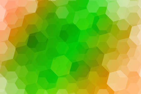 Abstract hexagons vector background. multicolor color geometric vector illustration. Creative design template. For your design, business
