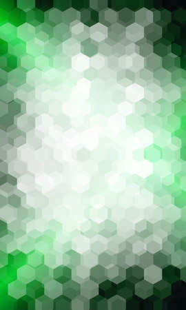 bright green background. hexagon vector pattern for design