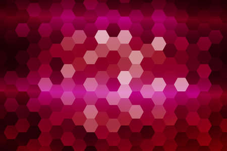 bright purple color hexagon background. vector illustration. for design, presentation