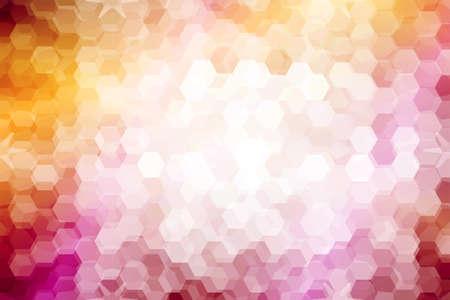 mosaico. vitral. color naranja púrpura. ilustración vectorial. para diseño, papel pintado, interior Ilustración de vector