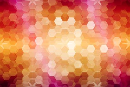 mosaïque. vitrail. couleur orange pourpre. illustration vectorielle. pour la conception, le papier peint, l'intérieur Vecteurs