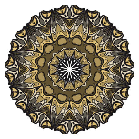 Vector mandala, Floral mandala. Oriental mandala. Vintage decorative elements. Vector illustration. It is super brilliant vector illustration.