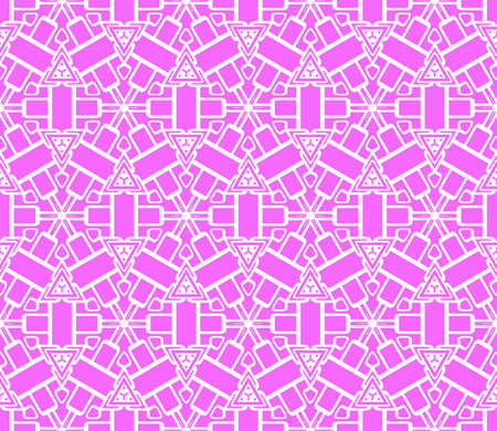 original seamless pattern with modern ornament. geometric style. fashion, interior design