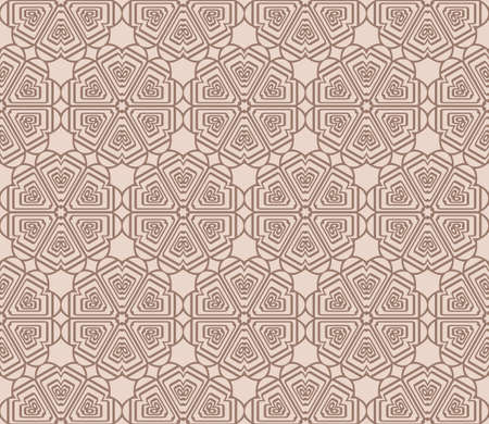 Abstract geometric pattern for background. Decorative backdrop for wallpaper, textile Illustration