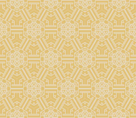 Seamless decorative geometric modern pattern. vector color illustration.