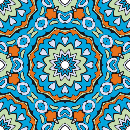 colored geometric vector pattern. Vector illustration. ideal for creative and decorative projects