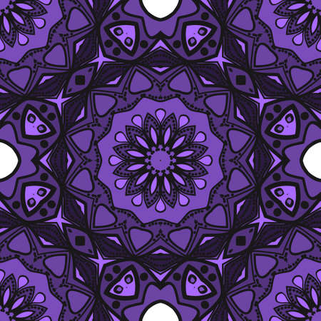 Multicolor geometric fantasy seamless vector illustration. For fashion Design Templates, Wallpaper.
