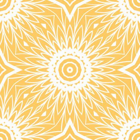Seamless vector pattern. Geometric ornament. For Interior decoration, wallpaper, presentation, fashion ornament design Illustration