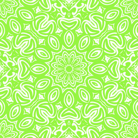 Unique, abstract floral color pattern. Seamless vector illustration. For design, wallpaper, background, fantastic print. Illustration