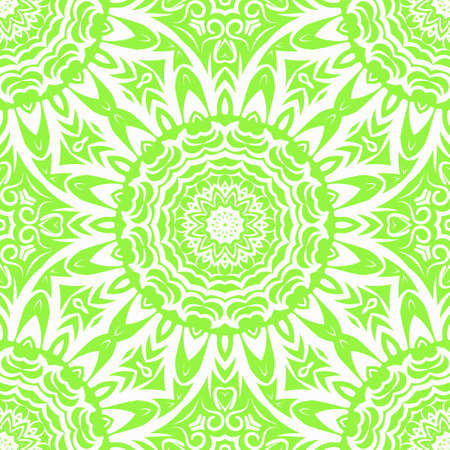 Mandala Style Vector Color Shapes. Abstract design. Decoration for fashion, holiday card, fantastic relax. Illustration