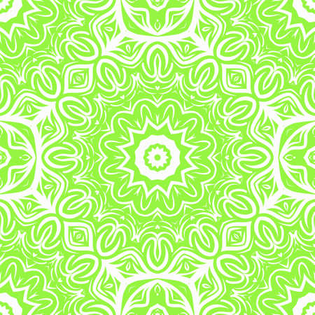 Art deco floral pattern of geometric elements. seamless pattern. Vector illustration. design for printing, presentation, textile modern industry.
