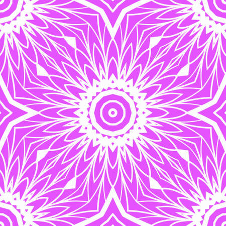 complex geometric ornament. sophisticated geometric pattern based on repetitive simple forms. vector flower illustration.  イラスト・ベクター素材