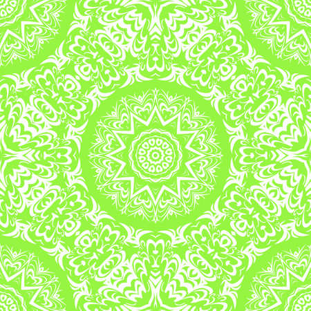 Seamless Floral pattern. Art-deco Geometric background. Modern graphic design. Vector illustration. For print, modern fashion. Illustration