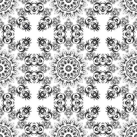 beautiful flower mandala. decorative vector. gold, black color symbol. vector illustration Illustration