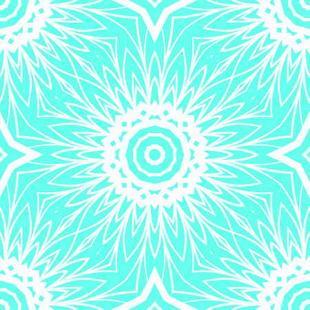 Perfect mandala. Decorative pattern in oriental style. It is fantastic vector illustration