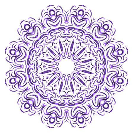beautiful flower mandala. decorative vector. gold, black color. Super magic vector illustration 일러스트