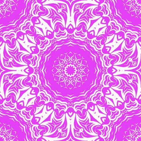 Beautiful fantasy flower ornament. seamless art-deco pattern. vector illustration. for design, wallpaper, invitation symbol.