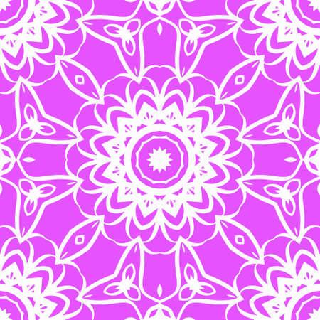 Modern Decorative geometric ornament. Vector illustration. For fantastic design, wallpaper.