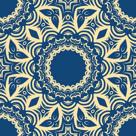 Uniek, abstract bloemenkleurenpatroon. Naadloze vectorillustratie— Vector van clairev Voor ontwerp, behang, achtergrond, fantastische print.